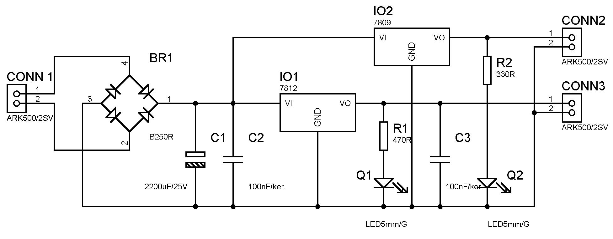 Konstrukce Laboratornho Zdroje 0 30v 5a Vvojhwcz 7805 Schema Kliknutm Na Obrzek Link Is External